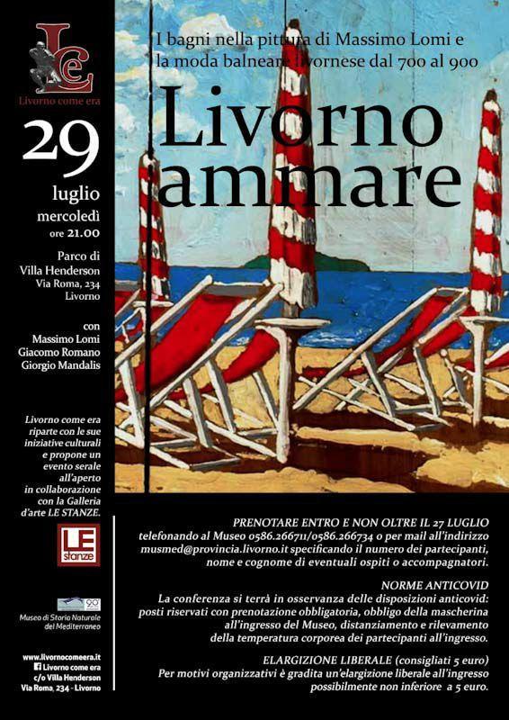Evento presso Villa Henderson il 29 luglio 2020 | Massimo Lomi