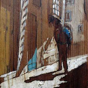 Giacca in spalla - Massimo Lomi