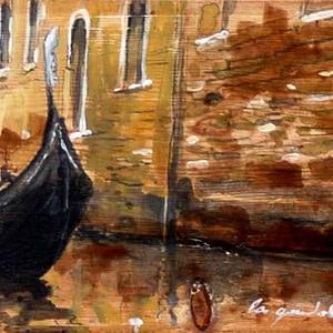 La gondola e il suo silenzio | Massimo Lomi