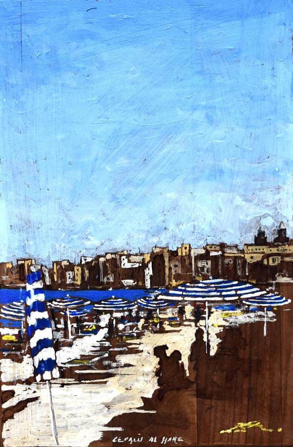Cefalù al mare | Lomi Massimo