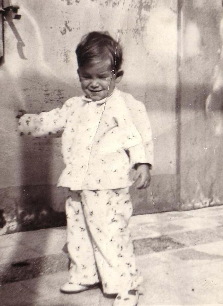 Massimo Lomi bambino